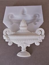 FRENCH URN EASY TO USE SILICONE RUBBER MOULD FIRE PLACE FURNITURE  PROJECTS