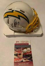 Keenan Allen Autographed Chargers Speed Mini Helmet JSA Witnessed COA