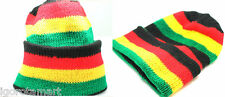 Jam Knit Ski Cap Hip-Hop Jamaican Rasta Stripe Winter Warm Unisex Hat