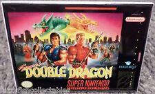 "Super Double Dragon Snes Game Box 2"" x 3"" Fridge Locker Magnet Nintendo"