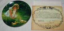 Vintage Pemberton Oakes Plate Golden Moment Zolan Children Ducks 7.5 80s Pets