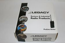 LEGACY INDUSTRIAL PORTABLE TWO-WAY RADIO PROLINES PL2445 PL2415 VHF 4 CH #530