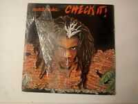 Mutabaruka ‎– Check It! Vinyl LP 1983