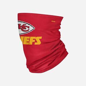 Kansas City Chiefs Team Logo Stitched Gaiter Scarf FOCO Licensed NFL New in Bag