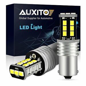 AUXITO 1156 P21W 7506 BA15S LED Backup Reverse Light Bulb 6500K Bright White K30