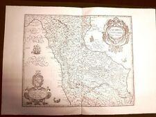 Calabria citeriore G.Antonio Magini o Maginus Atlante d'Italia 1620 Ristampa
