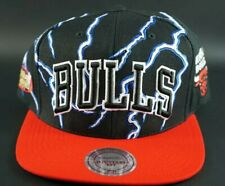 MITCHELL & NESS 1988 CHICAGO BULLS LIGHTNING SNAPBACK HAT CAP NBA HWC FINAL 1997