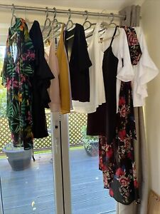 womens clothes 12 Item bundle size 10-12 Dress Tops