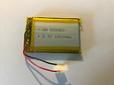3,7V 1000 mAh 523450 Li Polymer Akku Battery