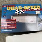 1994 Hitachi Quad-Speed 4x CD-Rom Drive Model CDROM022 Vintage Retro Computer