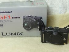Excellent/Boxed Panasonic LUMIX DMC-GF1 12.1MP Digital Camera - (Body Only)