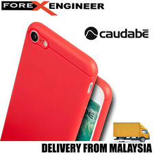 Caudabe The Sheath Premium Ultra Thin Case for iPhone 7 - Red