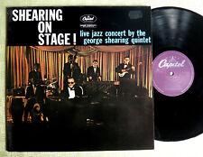George Shearing Quintet shearing on stage ! LP 12` Vinyl T 1187 Niederlande