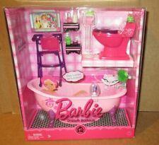 Barbie.2008 Dream Bathtub, Toilet & Accessories.Nrfb