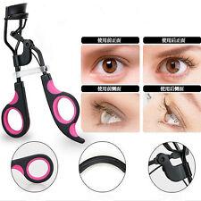 Proffessional Handle Eyelash Curler Clip Eye Curling Beauty Cosmetic Makeup Tool