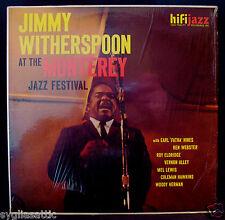 JIMMY WITHERSPOON-AT MONTEREY-Original Jazz Blues Album/In Shrink-HI FI #J 421