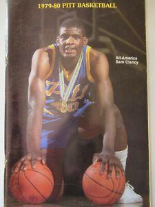 vintage Pitt Panther University of Pittsburg 1979-1980 Basketball book