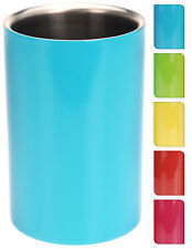 Double Wall Coloured Stainless Steel Ice Bucket Wine Cooler Champagne Cooler