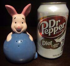 RARE Disney Piglet Winnie the Pooh Salt Pepper Shaker Ceramic Porcelain Figure