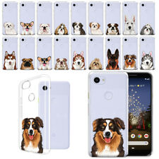 "For Google Pixel 3a 5.6"" Dog Design Ultra Tpu Soft Gel Case Phone Cover"