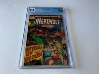 WEREWOLF BY NIGHT 7 CGC 9.8 WHITE PAGES CARNIVAL MIKE PLOOG MARVEL COMICS 1973
