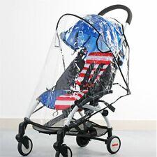 Clear Universal Rain Cover Pushchair Raincover For Buggy Stroller Pram Baby Car