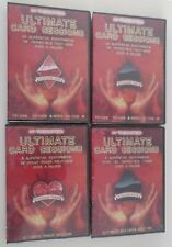 Ultimate Card Sessions best cards magic tricks 4 DVD various magician on 1 set