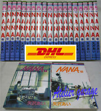 DHL Courier Delivery 3-7 Days to USA. NA NA Vol.1-21 Set Japanese Manga Comic