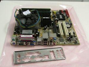 Asus P5LD2-VM Rev 2.00G socket 775 with a Celeron 2.8ghz 2gb memory