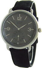 Ruhla Germany Herrenuhr schwarz  mens watch vintage design kleine Sekunde 42mm