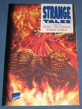 Strange Tales V3 #1 Nov 1994 Dr. Strange, The Thing, Human Torch