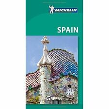 Michelin Green Guide Spain-ExLibrary