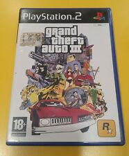 Grand Theft Auto Gta 3 III GIOCO PS2 VERSIONE ITALIANA