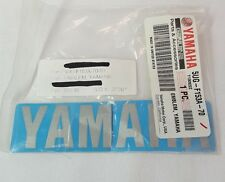 GENUINE YAMAHA 5UG-F153A-70 Yamaha Emblem 2011-2013 Big Bear, Grizzly, Rhino