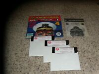 "Harpoon IBM, PC Game on 5.25"" disks with manual and cardboard holder"
