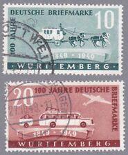 Württemberg Mi.Nr. 49-50 gestempelt