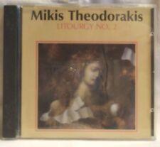 Mikis Theodorakis Litourgy no.2 [CD]