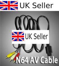 Cables y adaptadores para nintendo 64 para consolas de videojuegos