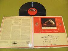 """Beethoven - Symphony No.4 / Furtwangler / Vienna Orch. / UK 1st HMV """"ALP 1059"""""""