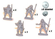 Crusader Miniatures DAI002 - Irish Warriors with Javelins & Buckler - SAGA