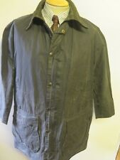 "Barbour A205 Border Waxed jacket - L 42"" Euro 52 in Blue"