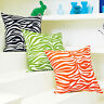 "HIGH DENSITY COTTON BEDDING CLOTHES CURTAIN FABRIC ZEBRA SKIN WHITE BLACK 44""W"