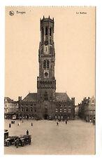 Le Beffroi - Bruges Photo Postcard c1920
