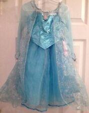 Authentic! Disney Parks World Land Frozen Princess Elsa Fancy Dress Costume 6/6X