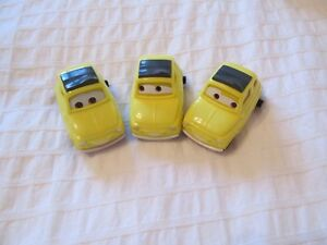 2006 Disney Pixar CarS McDonaldS LUIGI 3 DIFFERENT eyes version