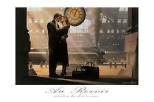 Chris Consani Au Revoir Love Romance Trains Print Poster 24x36