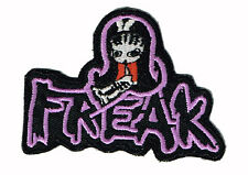 SUGAR HICCUP FREAK EMBROIDERED IRON ON PATCH emo goth gothic punk hot topic