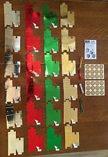 Make & Fill Your Own Advent Calendar Childrens Vintage Christmas Tree Decoration