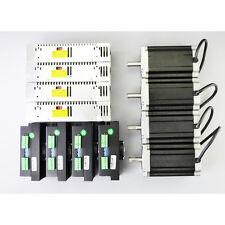 4 Axis CNC Kit 1841oz.in Nema 34 Stepper Motor & MA860H Driver CNC Router Lathe