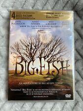 Big Fish Dvd New Sealed Sony Columbia Picture Tim Burton